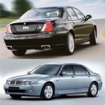 Rover 75 and MGZT